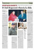 La pagina del quotidiano
